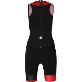 Santini Redux Overall Dames rood/zwart
